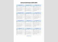 2019 Calendar Uk monthly printable calendar
