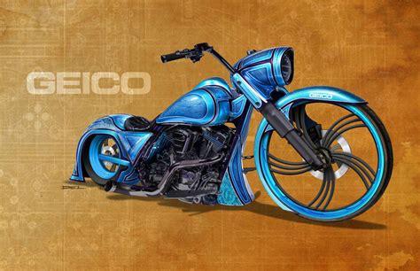 Geico Bike - Swanson Artworks