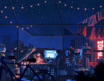 Aesthetic Anime Pc Desktop Wallpapers Computer Landscape