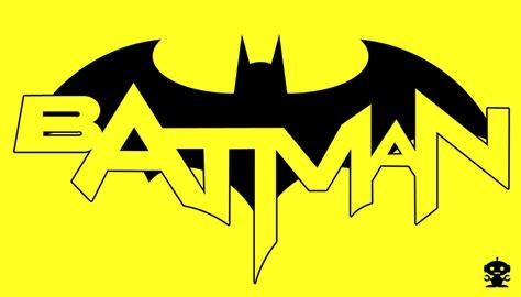 2011 The New 52 Batman Comic Title Logo By