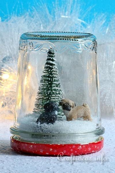 christmas gift idea house pets faux snow globe