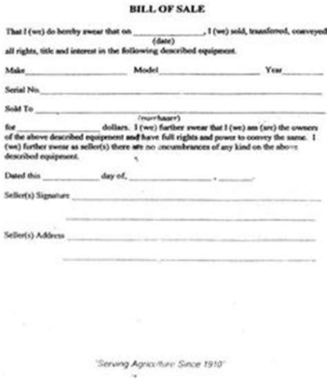 printable sample bill  sale templates form forms