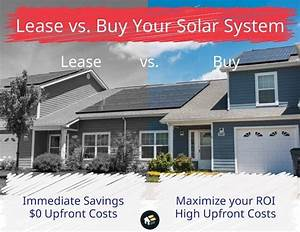 Should I Lease Or Buy Solar  How Does Leasing Solar Panels