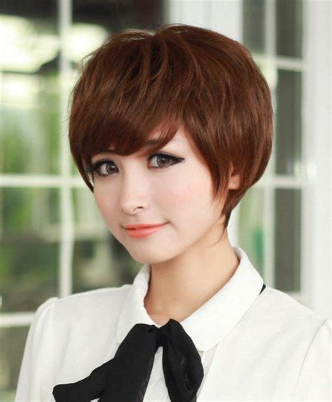 ideas for hair styles 2017 korean hairstyles chic layered pixie 6862