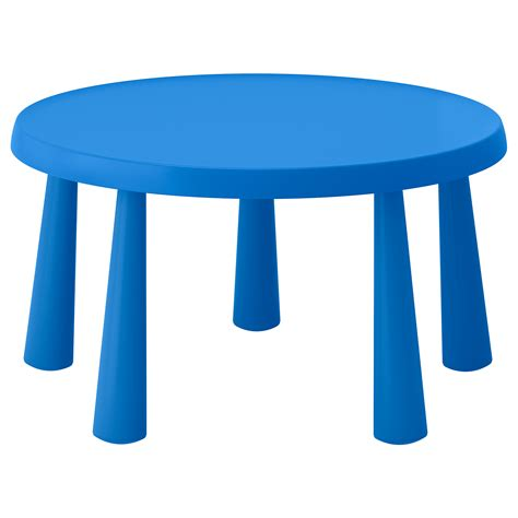 ikea kid tables mammut children s table in outdoor blue 85 cm ikea