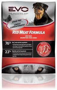 Evo red meat dry dog food 286 lb for Evo red meat dog food
