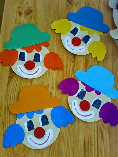 clown gesicht basteln bildergebnis f 252 r kunst mit kindern grundschule clowns schule karneval basteln clowns und