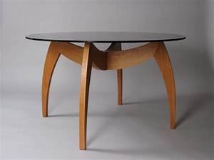 modern round kitchen table, Wooden Bases Round Glass Top ...