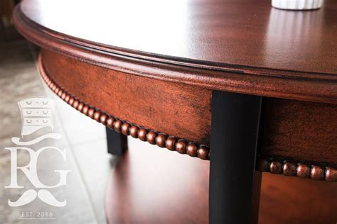 Coffee Table in Aged/Hammered Copper Finish   General