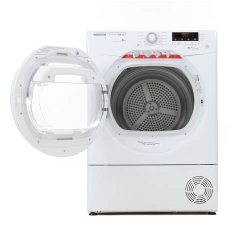 hoover  condensing tumble dryer dncdb  white