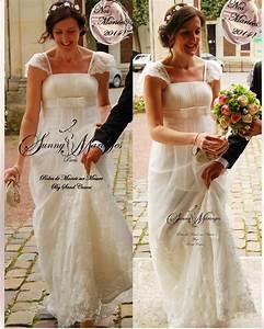 Robes De Mariée Bohème Chic : robe de mariee empire vintage boh me chic sunny mariages ~ Nature-et-papiers.com Idées de Décoration