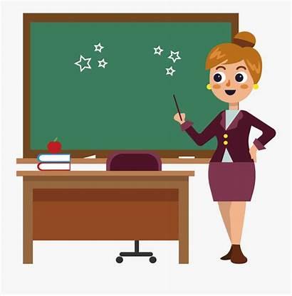 Desk Teacher Clipart Transparent Clipartkey