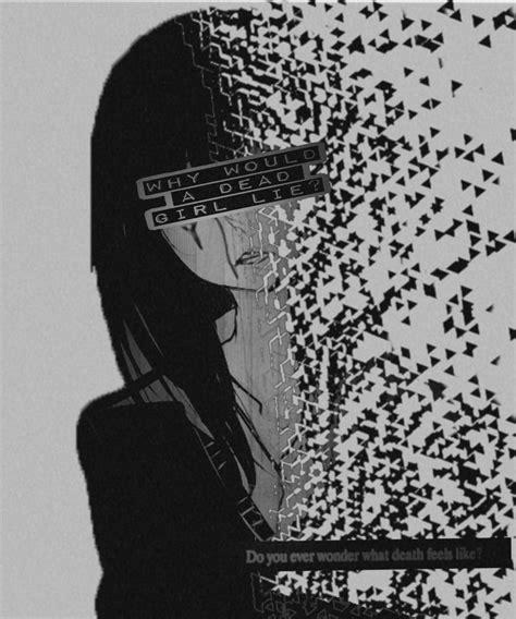 Sad Anime Girl Aesthetic Depression Broken Joke Edit