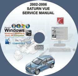 how to download repair manuals 2003 saturn vue spare parts catalogs saturn vue 2002 2003 2004 2005 2006 service repair manual on cd www servicemanualforsale com