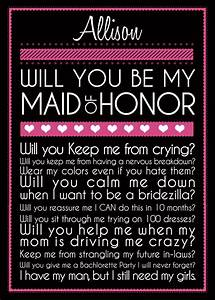 1000 images about will you be my bridesmaid creative With letter to ask bridesmaids to be in wedding
