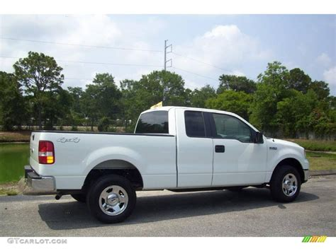 ford truck white 2008 oxford white ford f150 xlt supercab 4x4 13015868