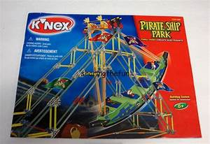 Knex Instruction Manual Only  15139 Pirate Ship Park Book