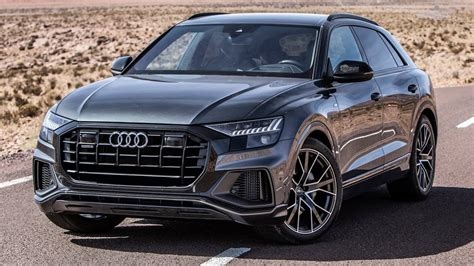 finally the 2019 audi q8 a fantastic machine it will