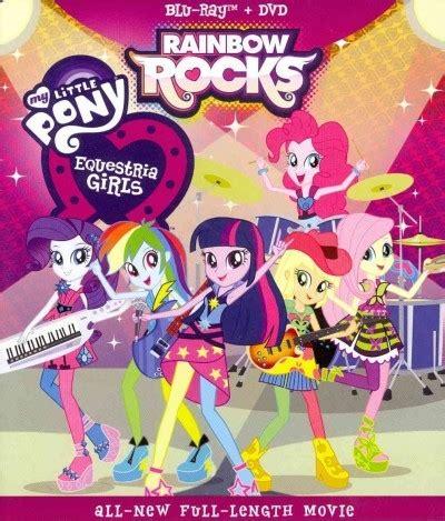 My Little Pony Equestria Girls Rainbow Rocks (Region A Blu ...