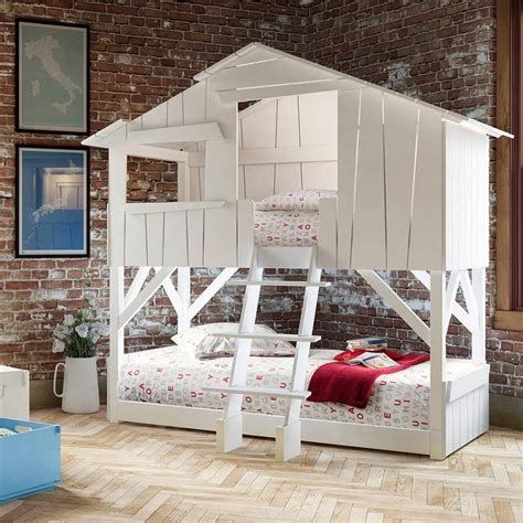 house bunk bed slides trundles and tree houses the best bunk beds to
