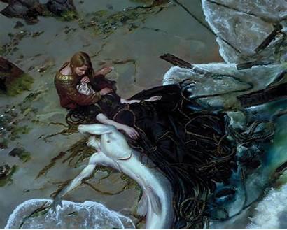 Mermaid Fantasy Mermaids Illustrations Books Wallpapers Desktop