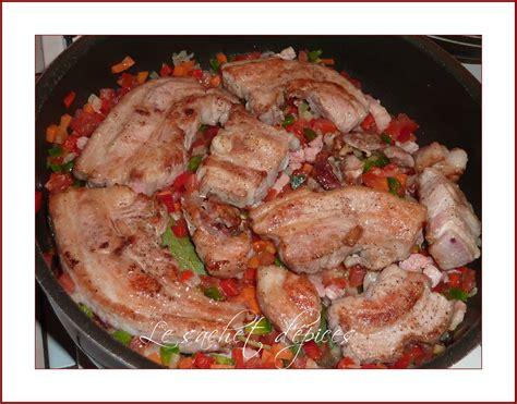 cuisiner tendron de veau tendron de veau à la paysanne le sachet d 39 épices
