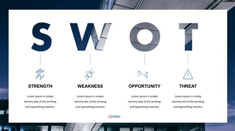 swot analysis powerpoint templates  powerpoint templates