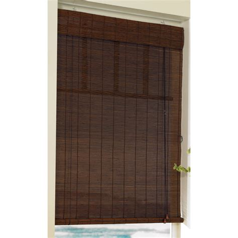 epic outdoor patio blinds lowes 62 in bamboo patio cover