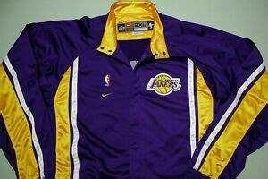 Los Angeles Lakers Vintage 90s Nike Team Game Issue 1999 ...