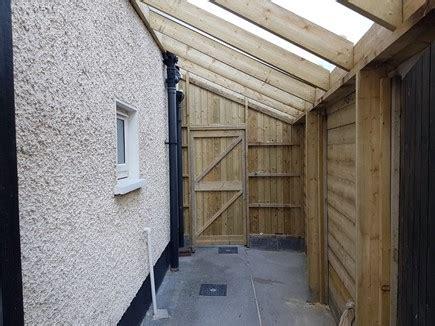 lean  sheds roofing carpenter mac carpentry