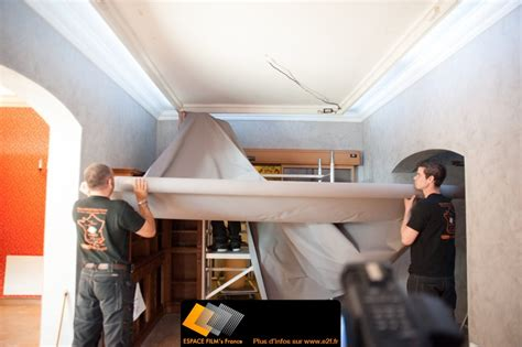 papier peint a peindre pour plafond cout renovation maison