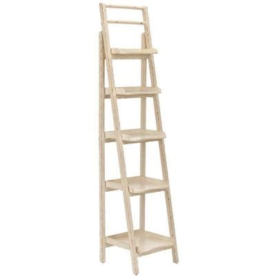 Ladder Etagere by Home Decorators Collection Demi Leaning 5 Shelf Etagere In