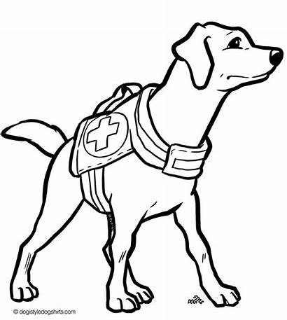 Coloring Dog Pages Jack Russell Drawing Terrier