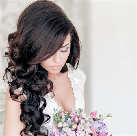 weddings hair style 28 prettiest wedding hairstyles modwedding 7611