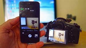 Sony Rx10 Ii - Iphone Remote Control For Rx10