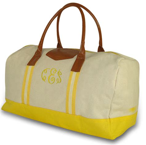 womens overnight bag personalized monogrammed