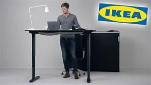 Schreibtisch Höhenverstellbar Ikea : bekant gesunder ikea schreibtisch computer bild ~ Markanthonyermac.com Haus und Dekorationen