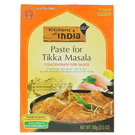 Kitchens Of India Paste Uk by Kitchens Of India Paste For Tikka Masala Concentrate For