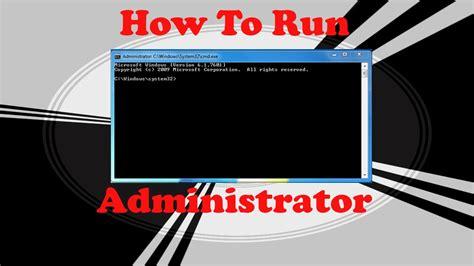 run  command prompt   administrator