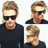 Undercut Hairstyle Men Long Hair