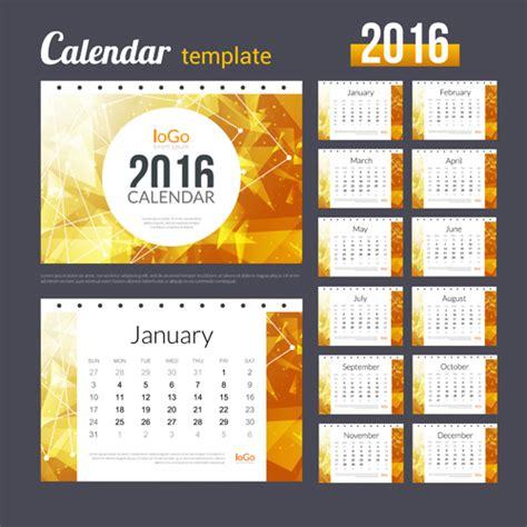 creative calendar template vector vector