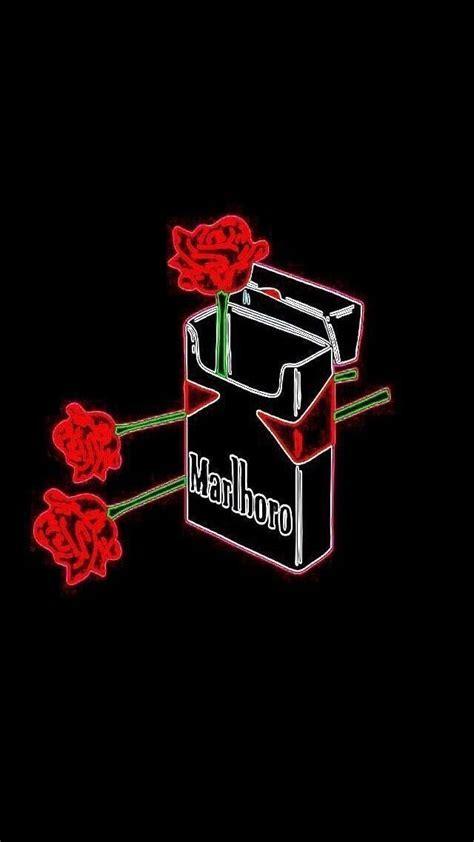 Aesthetic Illustration Iphone Aesthetic Wallpaper by Marlboro Roses Wallpaper Black Aesthetic Wallpaper