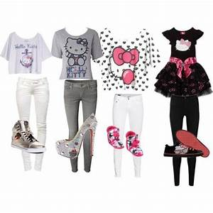 1000+ images about HELLO KITTY OUTFITS