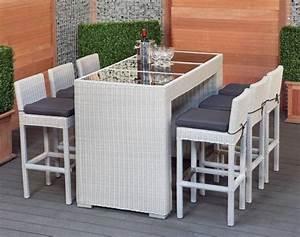 Bar Exterieur De Jardin : meubles de jardin 24 idees fascinantes pour vous inspirer ~ Dailycaller-alerts.com Idées de Décoration