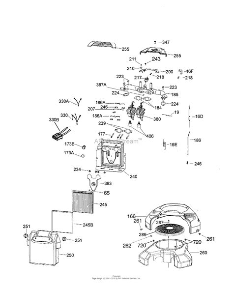 4 Engine Diagram by Tecumseh Tvt691 600401a Parts Diagram For Engine Parts List 2
