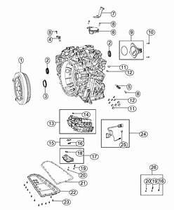 2014 Jeep Patriot Sensor  Primary Revolution  Transmission
