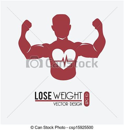 lose weight clipart vector clipart of lose weight design white background