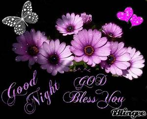 Good Night Flowers and Hearts Picture #94763260   Blingee.com