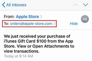 spam - How did ... Fake Email
