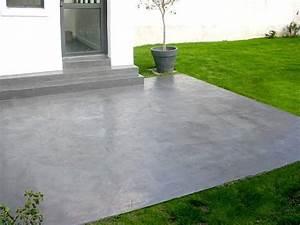 les 25 meilleures idees de la categorie terrasse beton sur With good idee allee de maison 8 les 25 meilleures idees de la categorie dalle exterieur